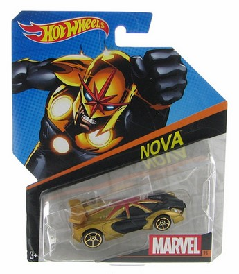 Hot Wheels samochodziki Marvel resoraki Nova BDM71