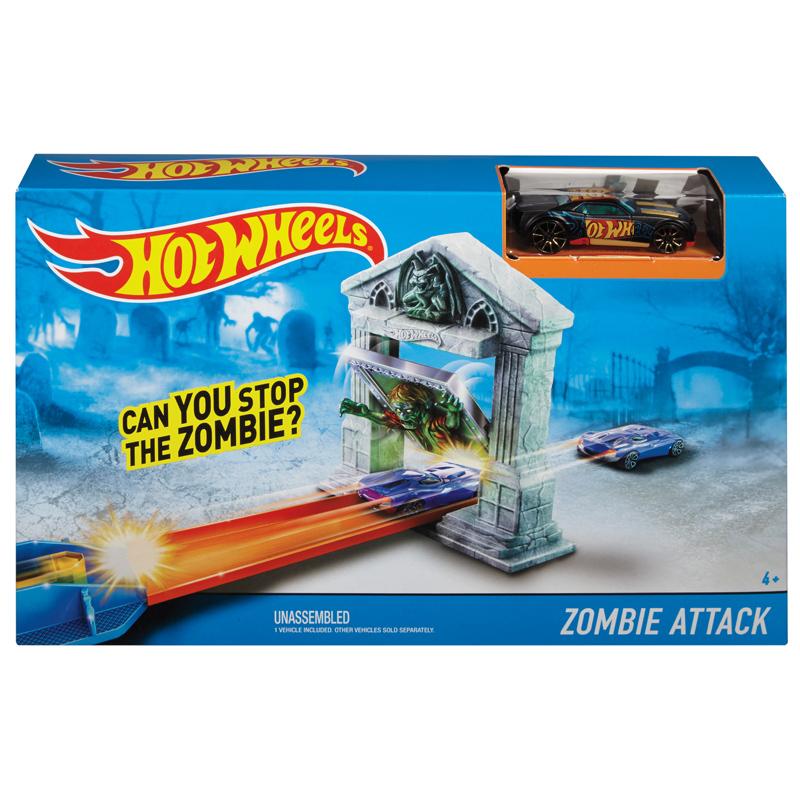 Zestaw torów Hot Wheels Atak Zombie BGH87 DJF03