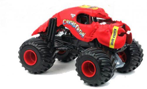 Duży pojazd Monster Jam w 4 wariantach, Hot Wheels Crushtation CYB61