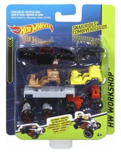 Samochodzik Hot Wheels do samodzielnego składania Czarny CDY00 CDY01