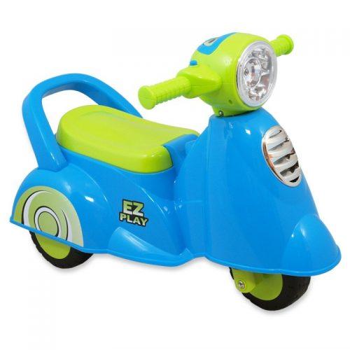 Pojazd dla dzieci skuter Alexis Niebieski