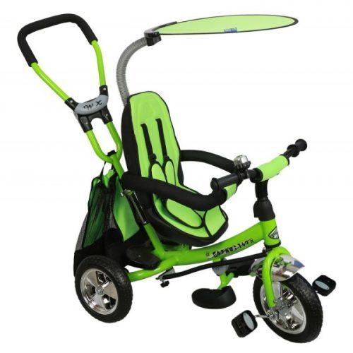 Baby Mix  rowerek trójkołowy z siedziskiem obrotowym Green