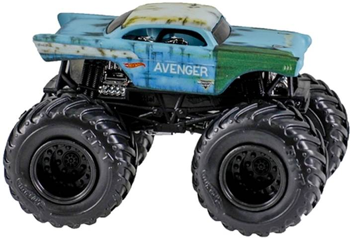 Duży pojazd Monster Jam w 4 wariantach, Hot Wheels Avenger CYB61