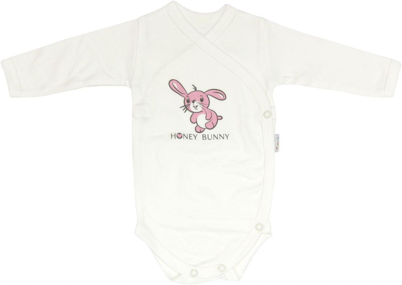 Body długi rękaw rozpinane Honey Bunny Mamatti 62