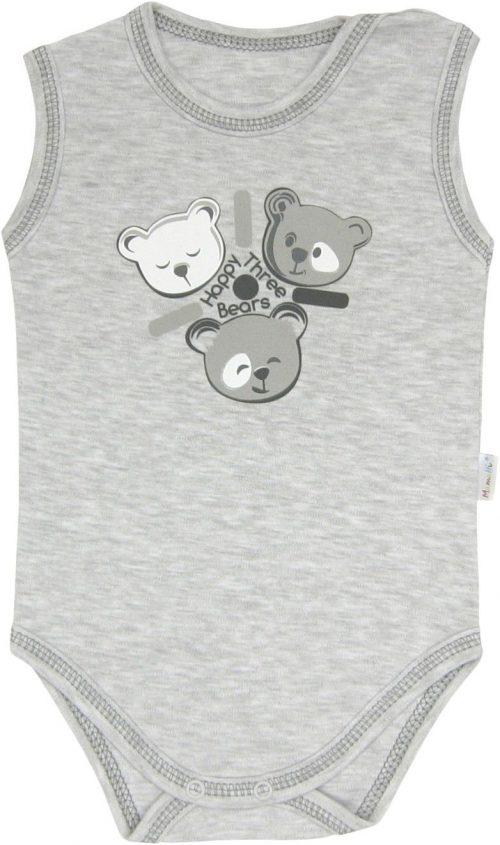 Body ramiączko Happy Bears Mamatti 74