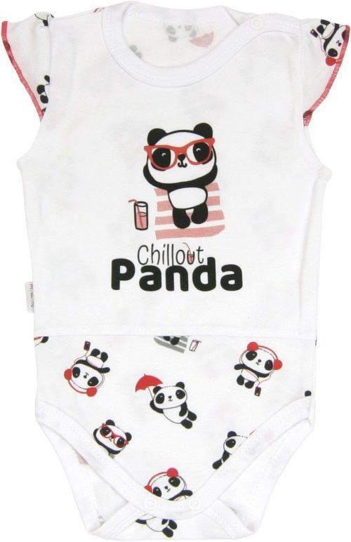 Body ramiączko bez rękawka Panda Mamatti 92
