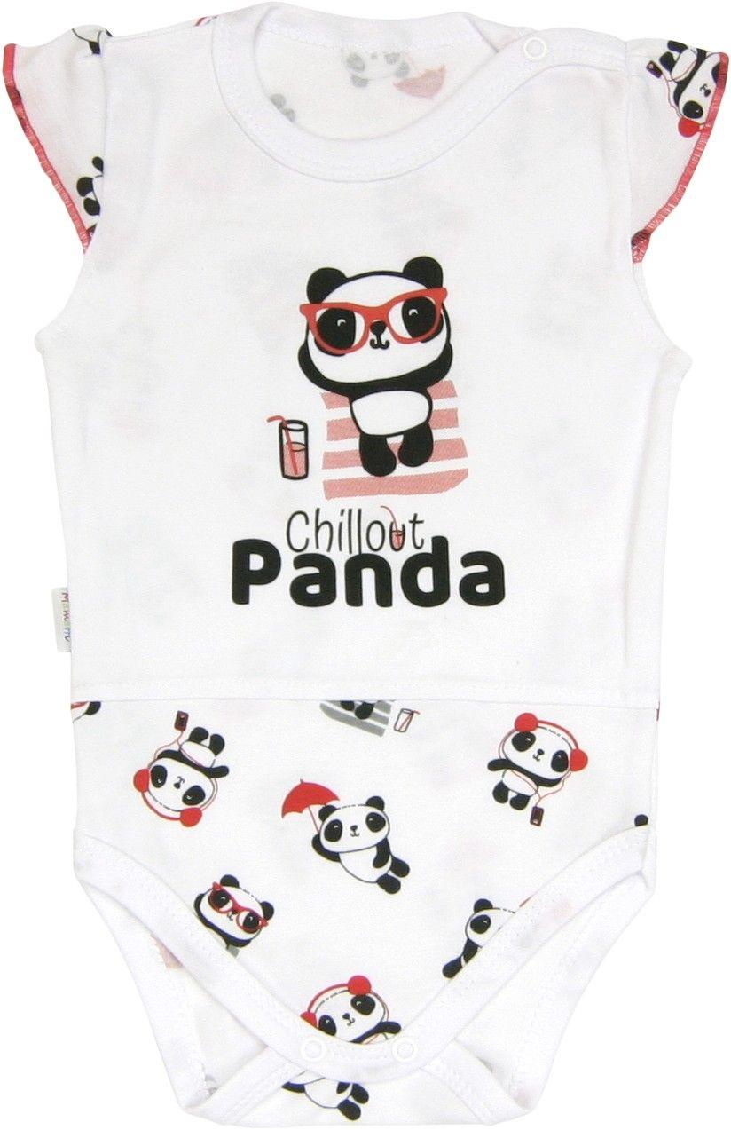 Body ramiączko body bez rękawka Panda Mamatti 98