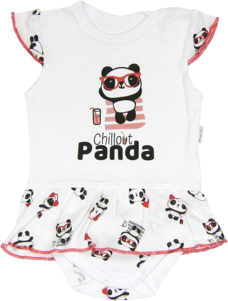 Sukienko-body Panda Mamatti sukienka 80