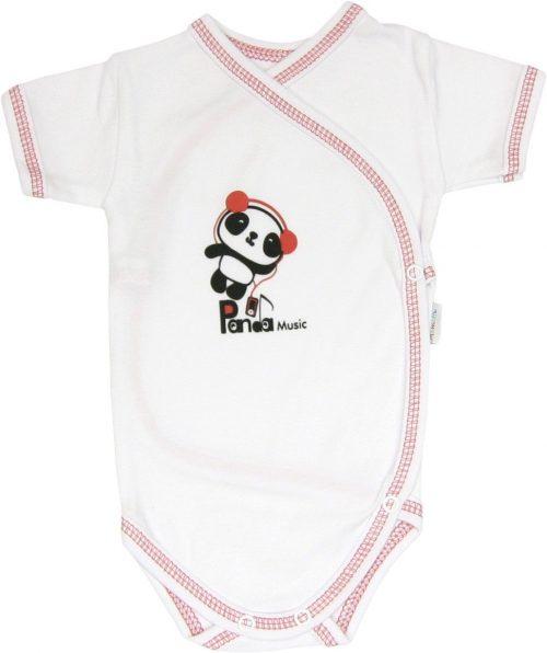 Body krótki rękaw rozpiane Panda Mamatti 62