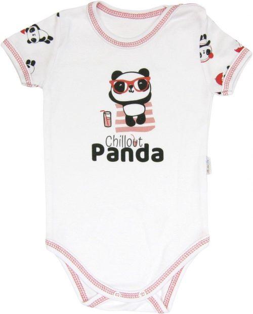 Body krótki rękaw Panda Mamatti 80