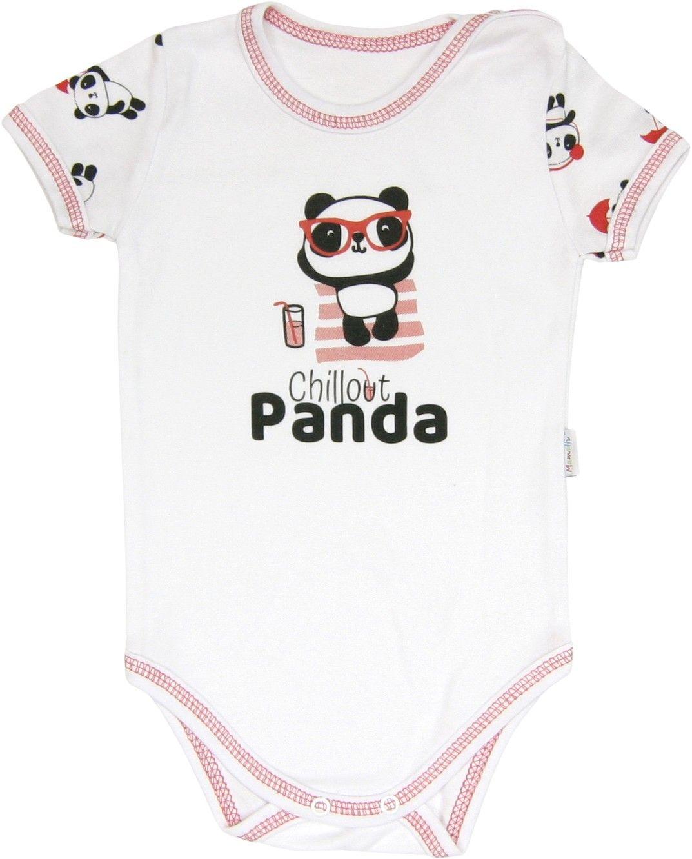 Body krótki rękaw Panda Mamatti 92