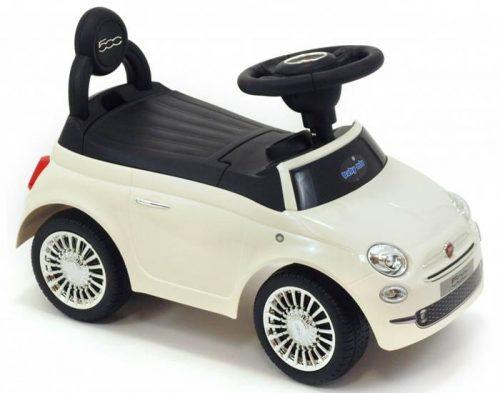 Pojazd Fiat 500 Alexis pchacz dla dziecka Biały