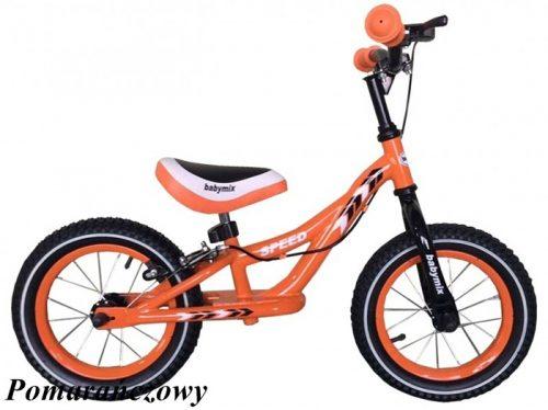 Rowerek biegowy Alexis  z pompowanymi kołami Pomarańczowy