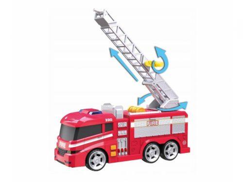 Dumel flota miejska Pojazdy strażackie 3szt motor samochów i wóz strażacki HT66511