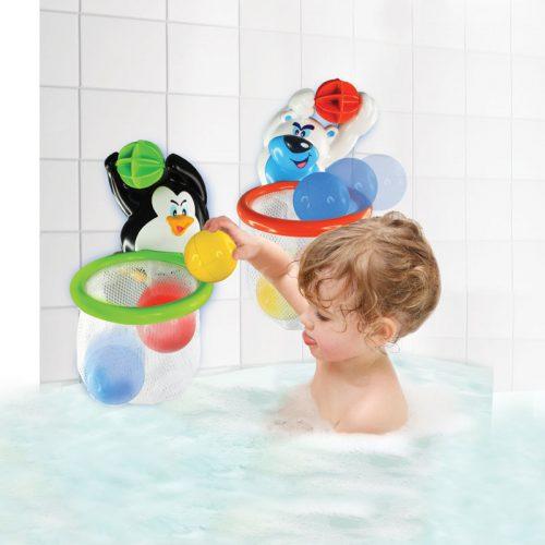 Zabawka do kąpieli koszykówka polarna Pingwin Dumel DD43350