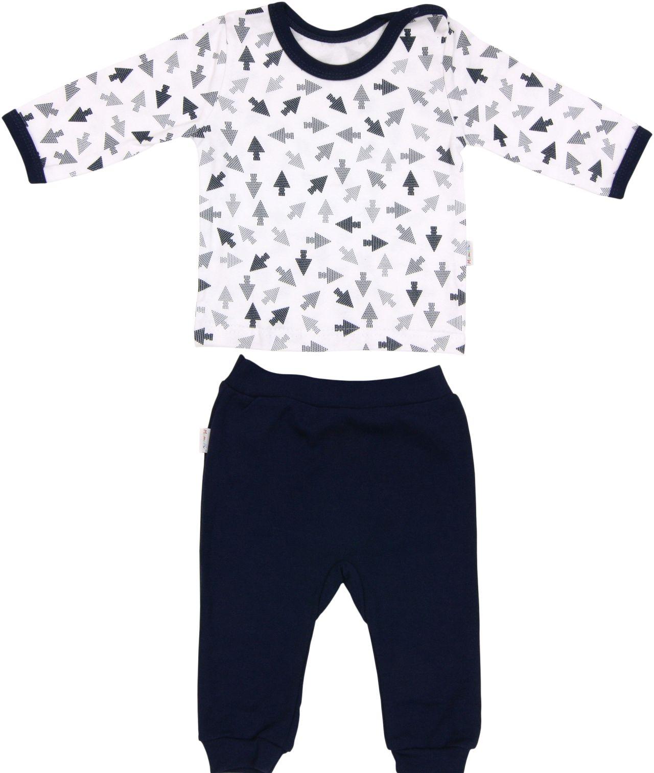 Piżama dla dziecka z bawełny strzałka Mamatti 86