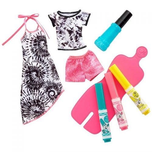 Barbie Zrób to sama - Stylowe Szablony ubrania dla lalki FPW13