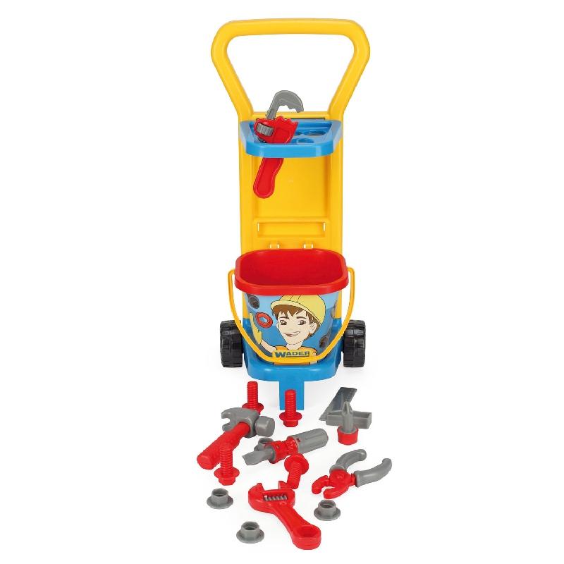 Wózek mały mechanik - zestaw małego majsterkowicza 10776