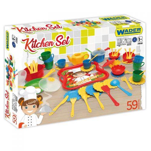 Wader Zestaw kuchenny kitchen set 24090