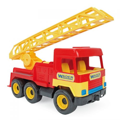 Samochody budowlane 4 modele ok 40 cm Wader 32001 Straż
