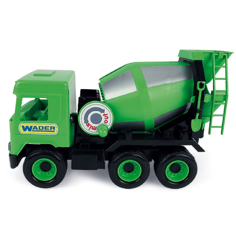 Middle truck  betoniarka zielona 42 cm - Wader 32104