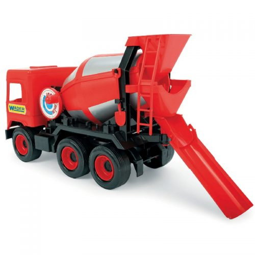 Middle truck betoniarka czerwona - Wader 32114