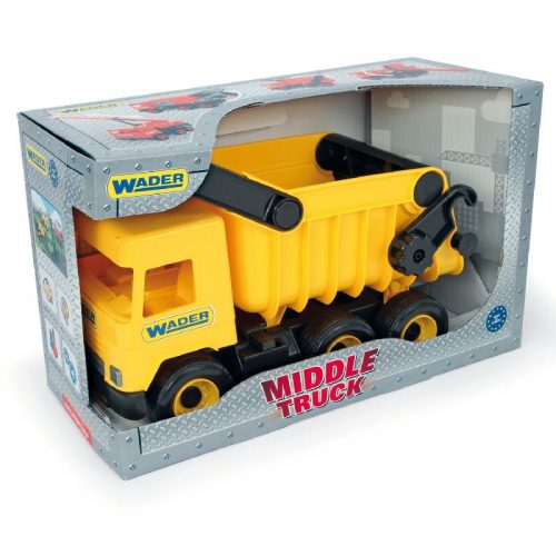 Middle truck wywrotka żółta - Wader 32121
