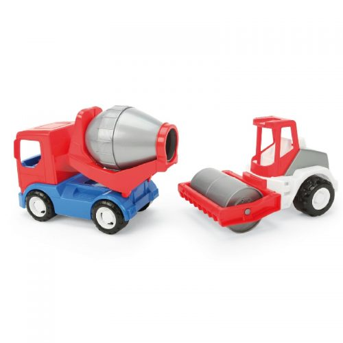 Pojazdy Tech Truck walec i betoniarka Wader 35370
