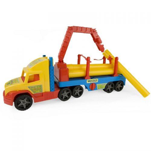 Duże auto Wader 36540 - Super Truck Budowlany 77 cm