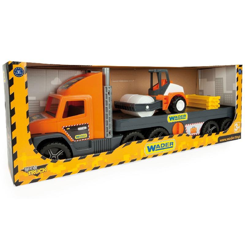 Super Tech Truck Laweta z walcem Wader 36740
