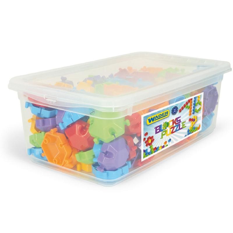 Wader klocki puzzle 120 elementy w boxie 41600
