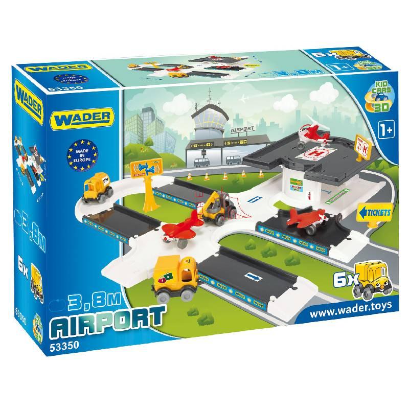 Kid Cars 3D - Baza Lotnicza Wader 53350