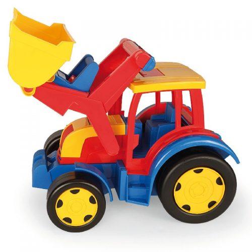 Traktor spychacz gigant zabawki Wader 55 cm 66000