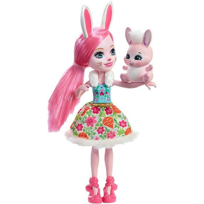 Enchantimals  lalka + zwierzątko DVH88