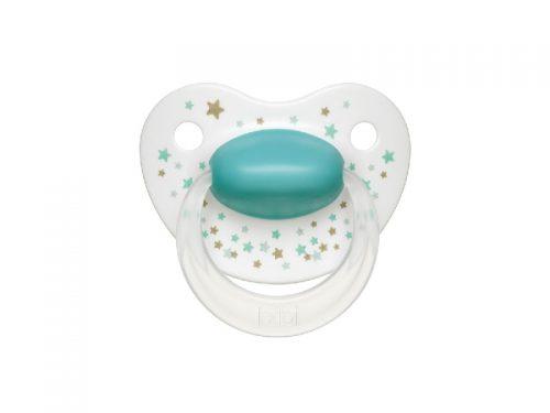 Smoczek ortodontyczny uspokajający  Bibi Star Dust Gwiezdny pył Happiness 16+