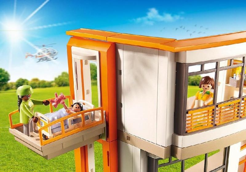 Szpital dziecięcy 6657 Playmobil duży zestaw z wyposażeniem PL6657
