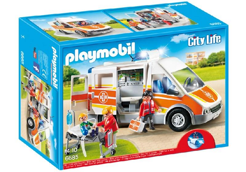 Karetka ze światłem i dźwiękiem 6685 Playmobil