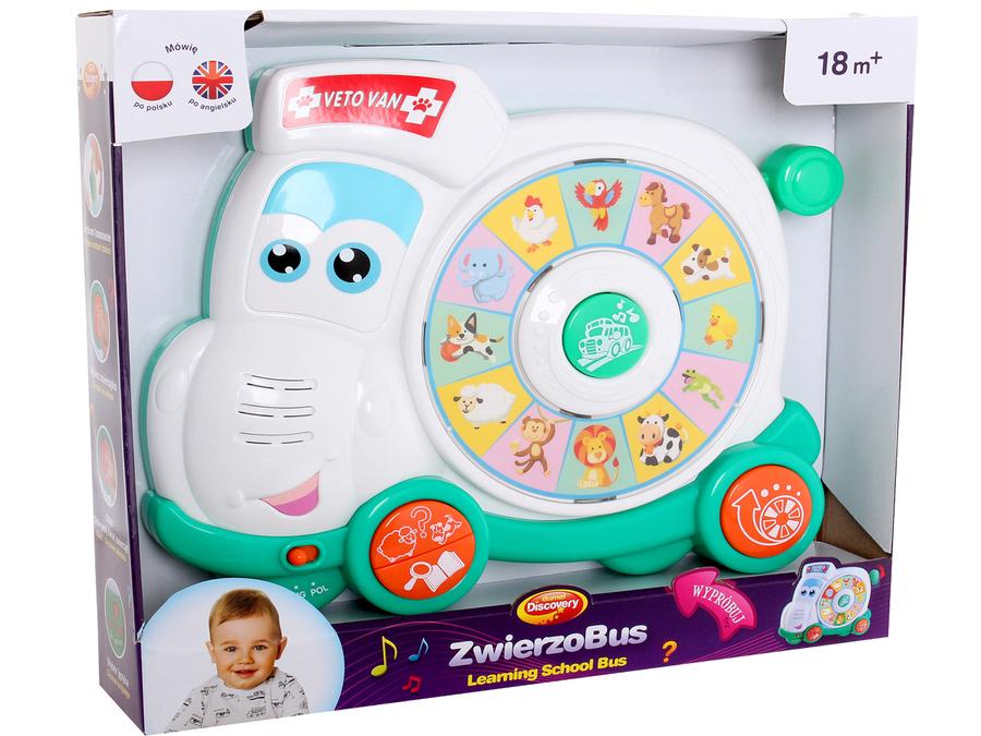 Zwierzobus Dumel 42287 muzyczna zabawka dla dzieci  DD42287