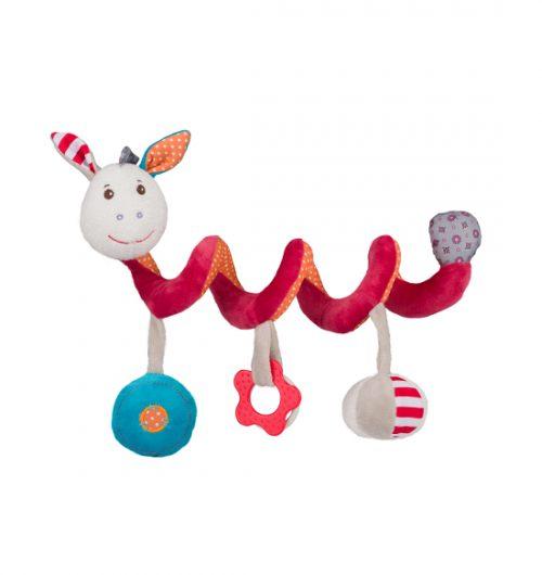 Spiralka do łóżeczka dziecięcego interaktywna zabawka Babyono