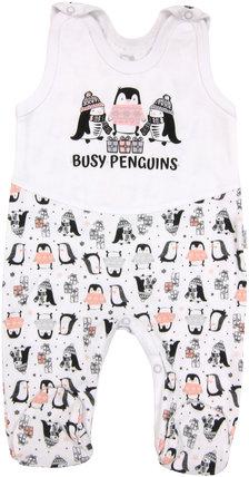Śpioszki niemowlęce Pingwin Mamatti 68