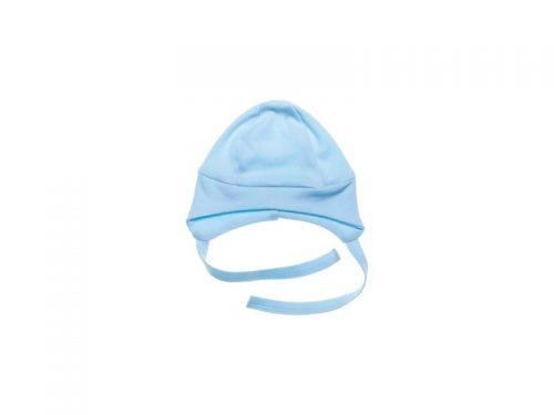 Czapeczka bawełniana dla niemowląt Basic Mamatti 56 niebieska