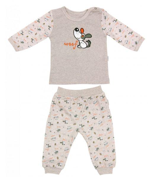 Piżama dla dziecka bawełniana długi rękaw Pet's Mamatti 86