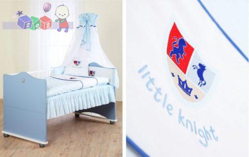 Pościel do łóżeczka dla dzieci 135 x 100 Klupś + haft