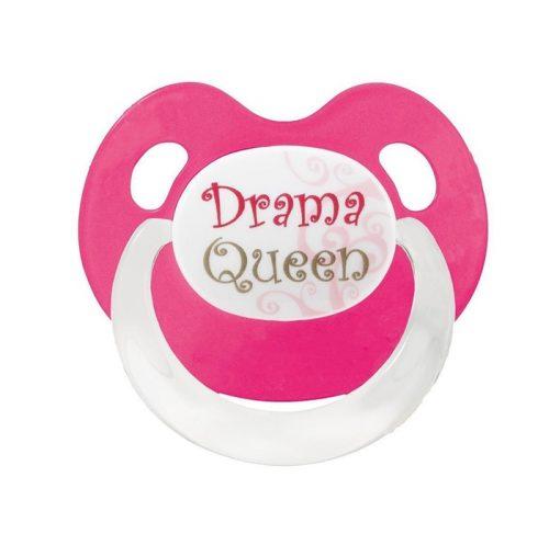 Bibi Smoczek uspokajający ortodontyczny Basic Care Drama Queen 0+