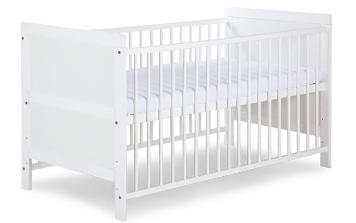 Łóżko tapczanik 140x70 cm Przemek Klupś Biały