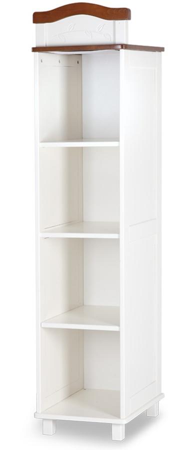 Drewniany regał do pokoju dziecięcego z kolekcji Rafał firmy Klupś 180x85x52 cm