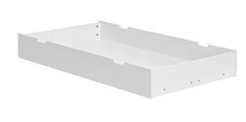 Szuflada do łóżeczka Pinio Marsylia 140 x 70 cm MDF - biała