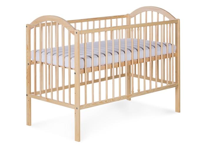 Łóżeczko dziecięce 120 x 60 Ewelina I Klupś Sosna