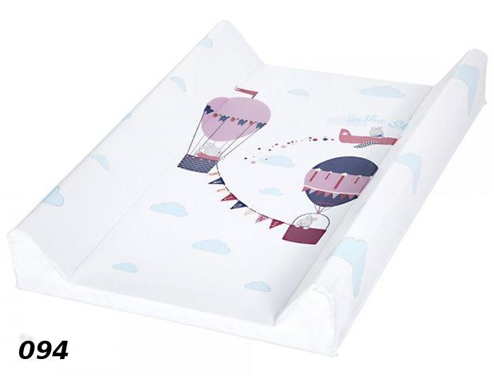 Przewijak niemowlęcy Klupś 80x50 cm na łóżeczko 140x70 i na komodę