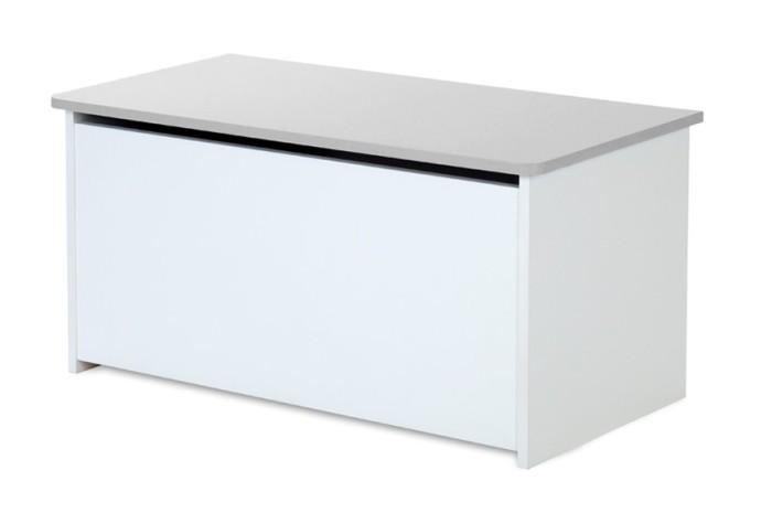 Pojemnik skrzynia na zabawki Klupś kolekcja Dalia 42x84x42 cm Grey